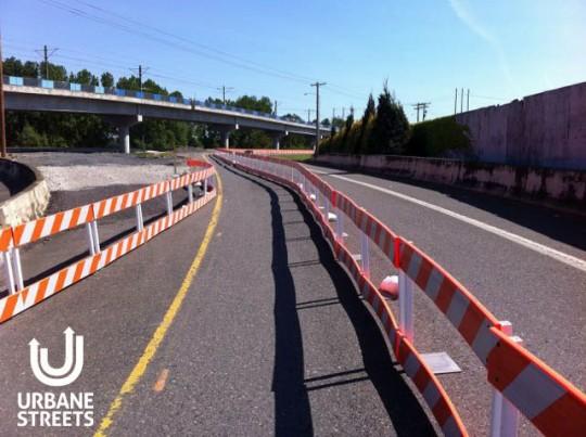 2015.05 Bike Detour ODOT Work Zone - Denver 3 - Boulanger