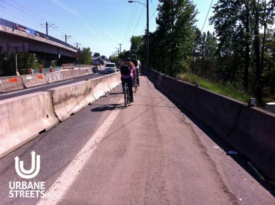 2015.05 Bike Detour ODOT Work Zone - Denver 5 - Boulanger