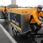 Pedal-powered freight delivery firm partners with Central Eastside food hub