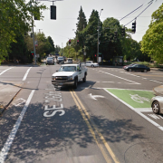 Sunday morning collision at 26th and Powell severs leg of man on bike (updated)