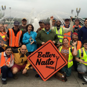 #BetterNaito demo kicks off two-week trial of multi-use path west of Waterfront Park