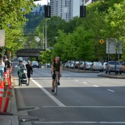 As festival season begins, Naito's bike lanes are walkers' only refuge