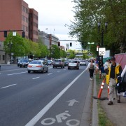Support builds for walking and biking improvements on east side of Naito Parkway (updated)