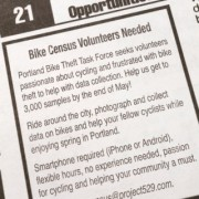 Bike Theft Task Force, Project 529 team up on census effort with new app