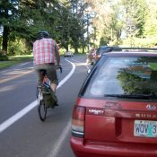 Eastmoreland residents organize against wider bike lanes that would remove parking