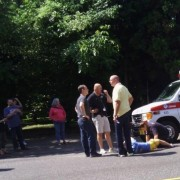 Man injured while bicycling on SE 26th at Powell (yes that same intersection) – UPDATED