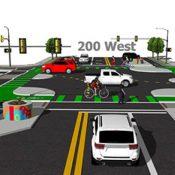 The Monday Roundup: Salt Lake's protected intersection, Jiu-jitsu vs. bike thief and more