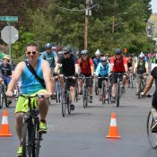 Sunday Parkways rings in the start of summer in East Portland
