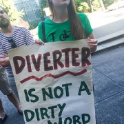 Commissioner Novick responds to 'Day of Protests' with diverter promise