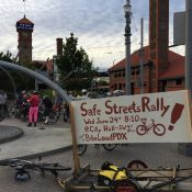 Portlanders plan safe streets rally at City Hall on Wednesday (6/24)