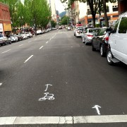 Old Town businesses and residents endorse buffered bike lane on 3rd Avenue