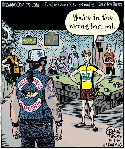 bizarro biker bar