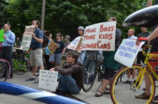 more bikes more kids slower cars