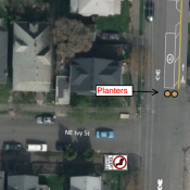 New plan to control cut-through traffic on NE Rodney uses one-way street for one block