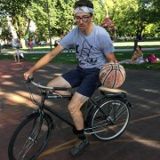 All sports are better when played on a bike