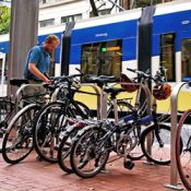 With new authority, TriMet moves to clear unused bikes from its racks
