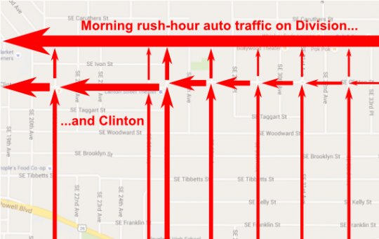 clinton traffic accumulation