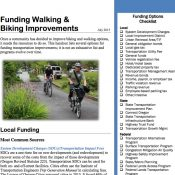 New ODOT resource demystifies funding for biking and walking projects
