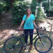 Megan Holcomb has recovered her stolen bike!