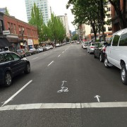 SW 3rd Avenue is about to get downtown's only buffered bike lane