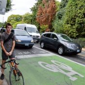 State's proposal to improve bike crossings of Powell: Remove bike lane from 26th