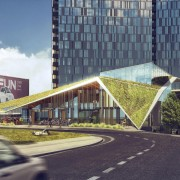 Burnside Bridgehead project includes possible bike-through retail window