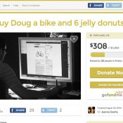 Donuts, Gofundme, and a humorous way to humanize bike theft