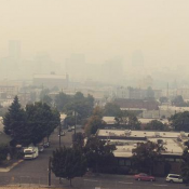 County urges bikers to use TriMet as wildfire smoke fills Portland streets (updated)