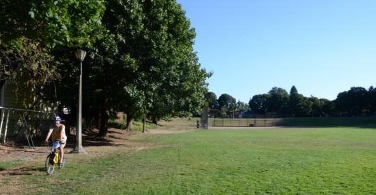 irving park unbuilt path