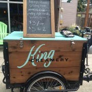 King Creamery adds ice cream to Portland's bevy of bike-delivery businesses