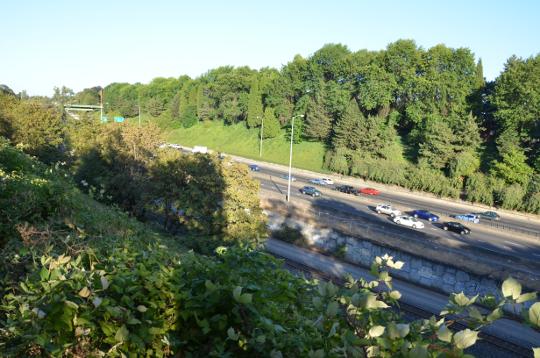 long crossing of I-84