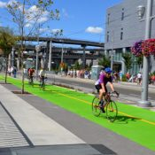 First Look: Southwest Moody is now probably Portland's best street to bike on