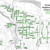 Council vote today would allow more diverters on neighborhood greenways