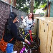 Years of advocacy leads to bike lockers at affordable housing development