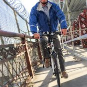 Mayor Hales biked to work this morning, for the fourth Monday in a row