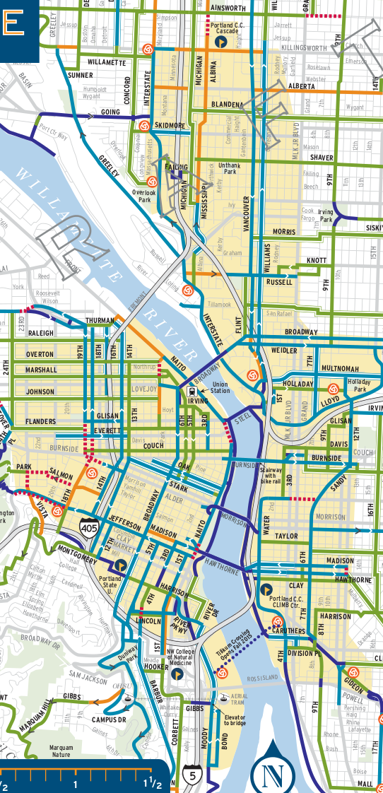 BikeShare area map 9-8