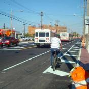 The Monday Roundup: Cleveland's backward bike lanes, folding cargo bike & more