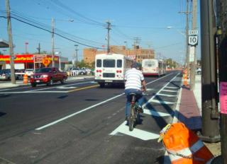 backward bike lane