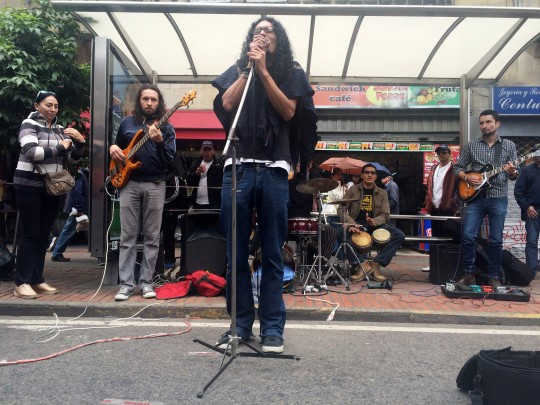 bus stop band