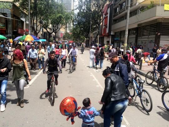 ciclovia streets