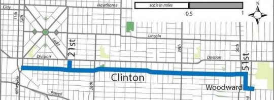 clinton route
