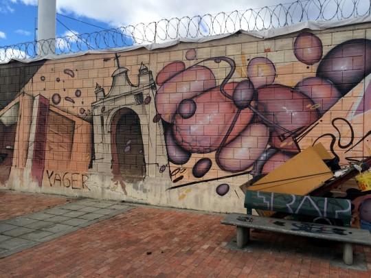 graffiti explosion arch