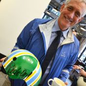 Mayor Hales pedals to work and makes a coffee-shop campaign stop