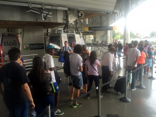 line for metrocable