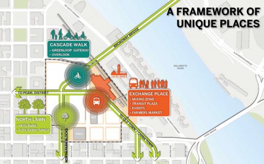 map of bikeways