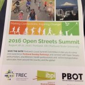 Portland wins bid to host 2016 National Open Streets Summit