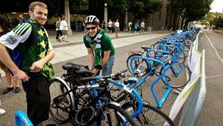 timbers bike parking