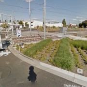 TriMet police stake out new train-track crossings east of Tilikum Crossing