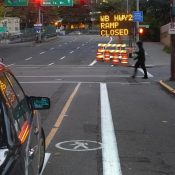Bike lane blockage (and what you can do about it)