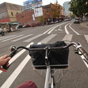 First look: New bike lanes on 3rd Avenue downtown